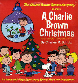 """A Charlie Brown Christmas"" LP from the 1960s"