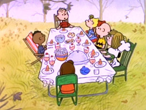 Charlie Brown Thanksgiving ping
