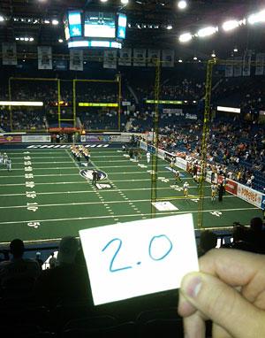 AFL 2010: Week 7: Chicago Rush vs Iowa Barnstormers