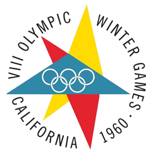 1960 Winter Olympics Emblem