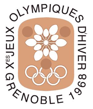 1968 Winter Olympics Emblem