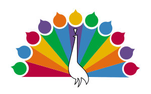 1956 NBC Peacock icon