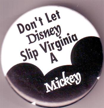 Don't Let Disney Slip Virginia A Mickey