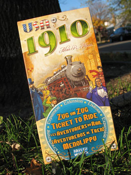 """Thoughts on """"Ticket to Ride: USA 1910 Expansion"""""""