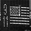 "CNA Plaza - ""9/11"" window message"