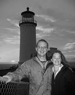 Steve and Amy visit another lighthouse!