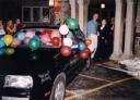 The Getaway: Steve's Jetta full of balloons!